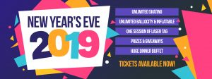 Skatetown Hysteria's New Year's Eve Bash 2019