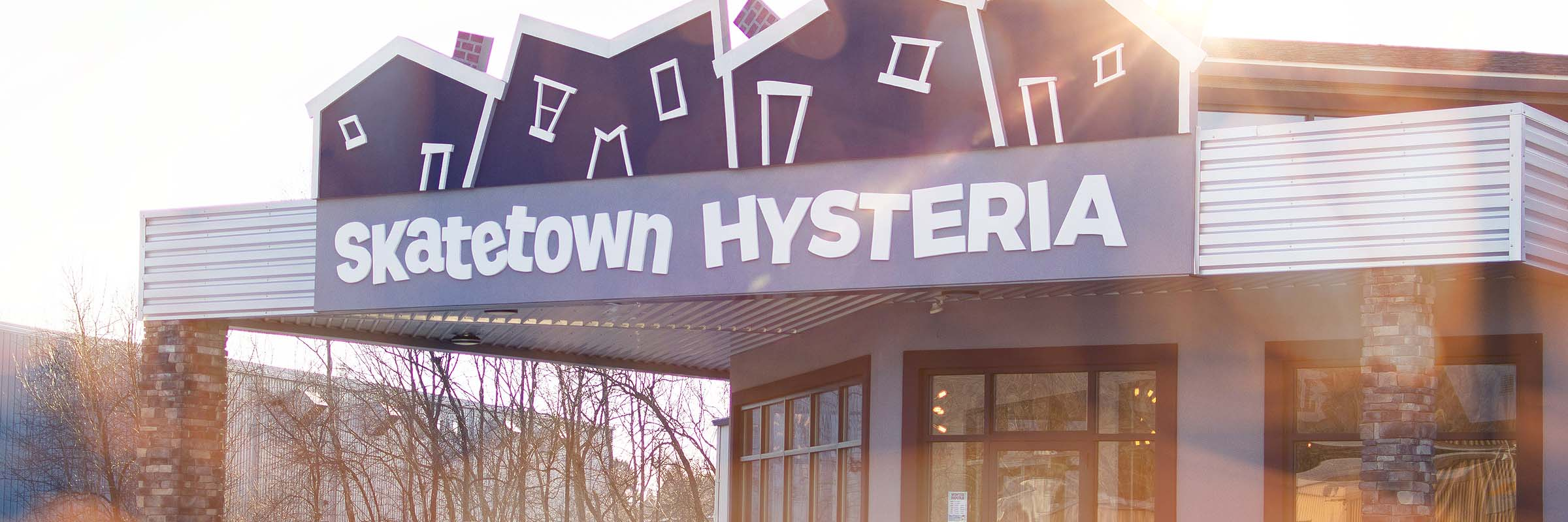 Skatetown Hysteria Exterior