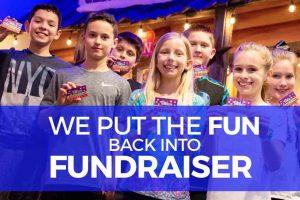 Fundraising at Skatetown Hysteria