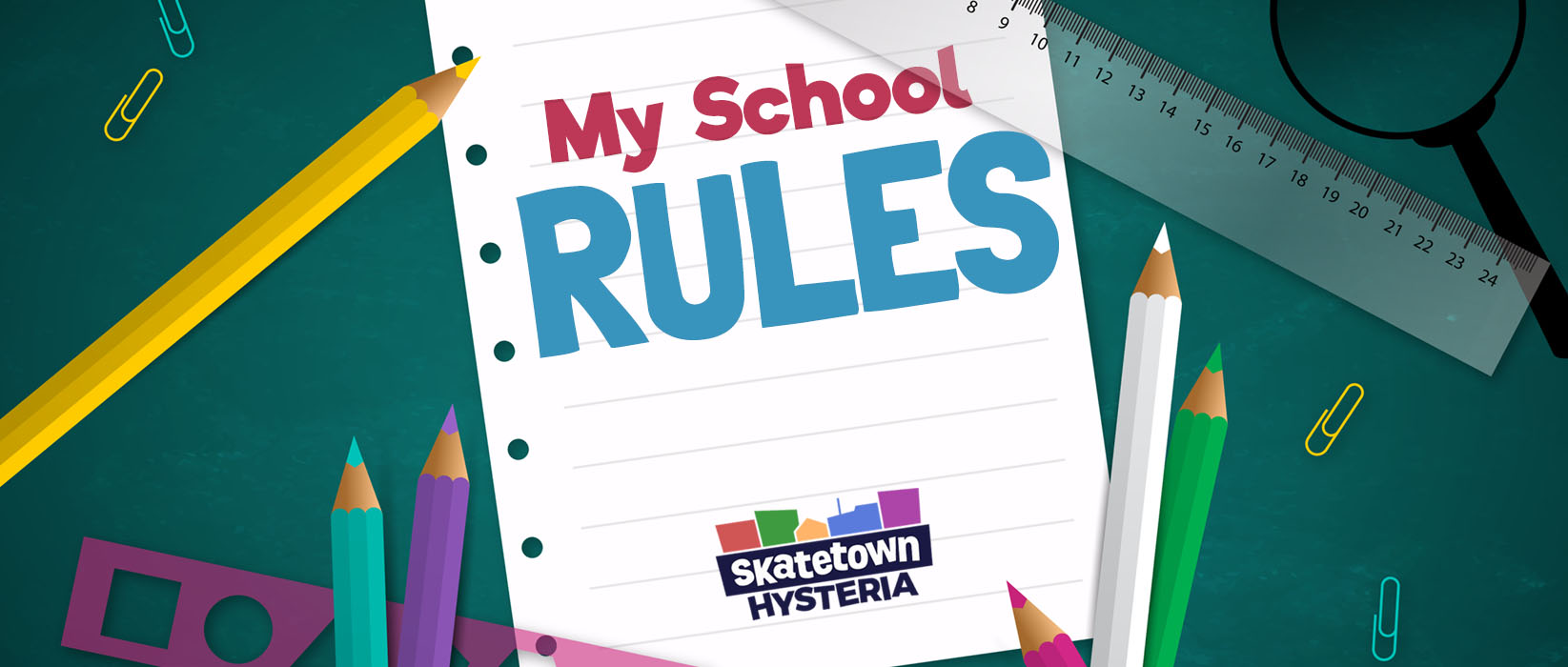 My School Rules Promotion