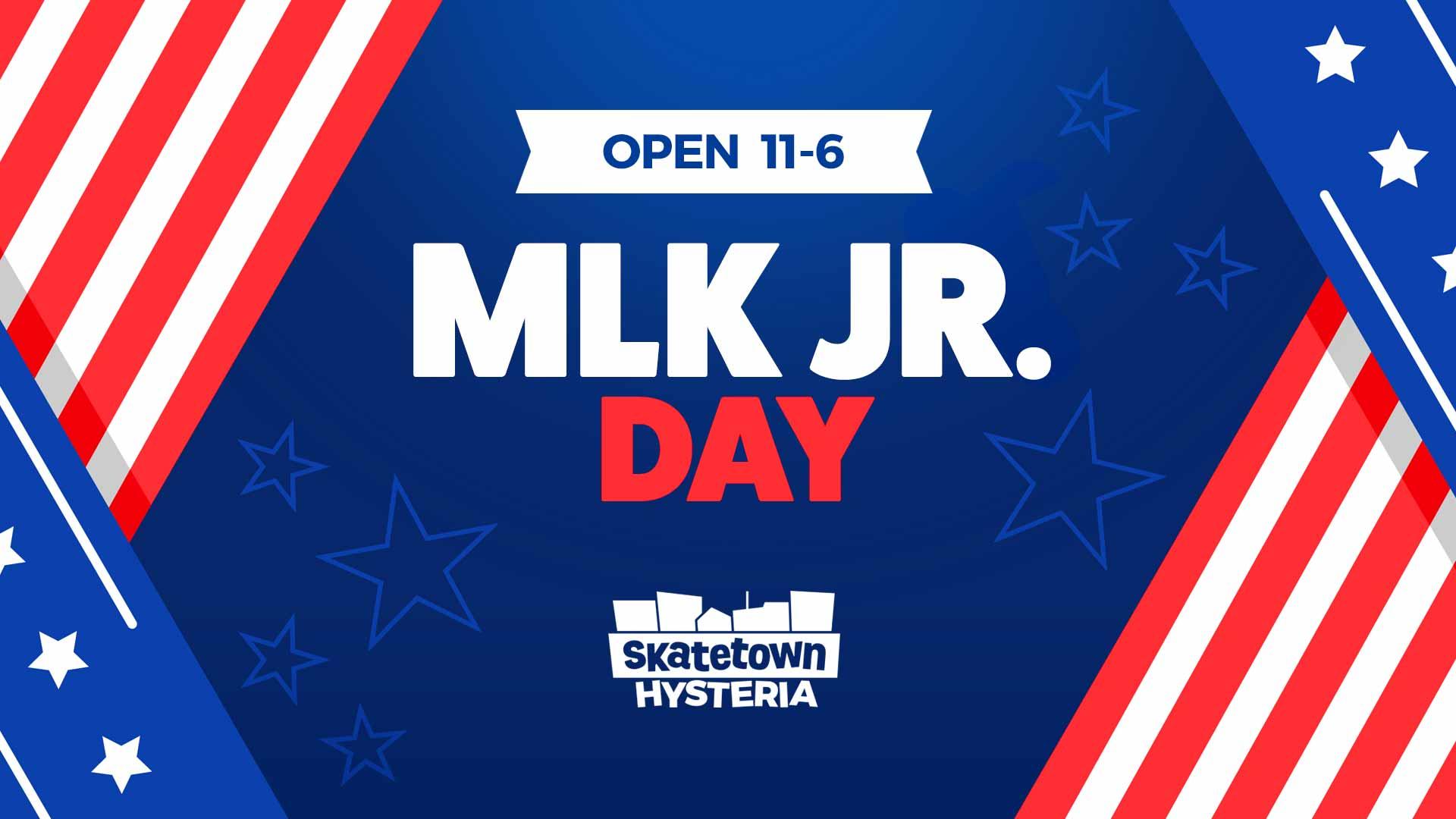 MLK Jr. Day 2020 event at Skatetown Hysteria